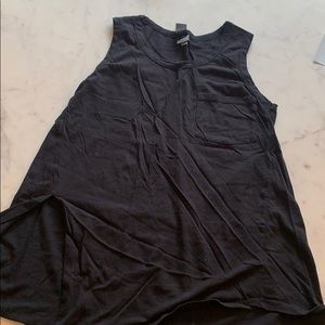 Black knotted tank - Evereve